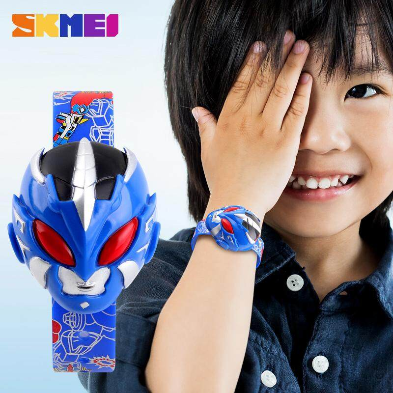 SKMEI New Kids Watches Cartoon Boys Girls Digital Wristwatches Fashion Creative Children Watch 1239 Malaysia