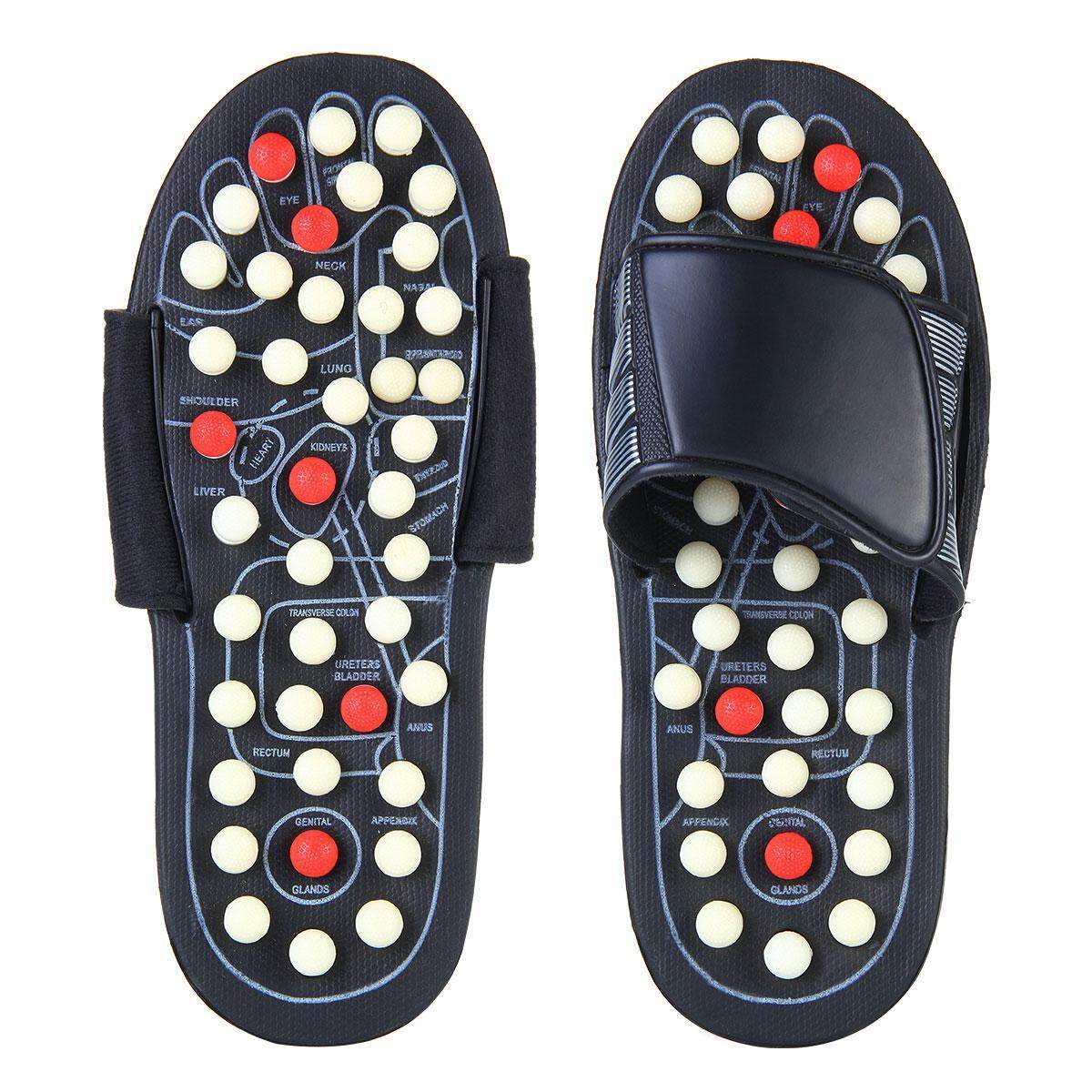 dfbeada8332 GoodGreat Foot Massage Slippers Revolving Polka-dot Acupoint Pedicures  Health Care Shoes