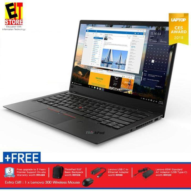 LENOVO THINKPAD X1 CARBON (6TH GEN) 20KHS01700 (I7-8550U/16GB/512GB SSD/14 WQHD/INTEL/W10/3YRS) Malaysia