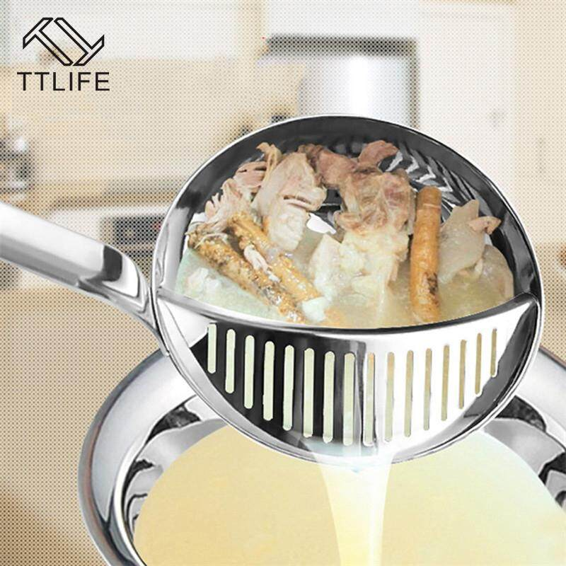 Ttlife Ttlife Long Handled Creative 2 In 1 Cooking Tools Filtration Soup Spoon Colander Spoon Dinnerware Kitchen Accessories By Ttlife Fashion Zone.
