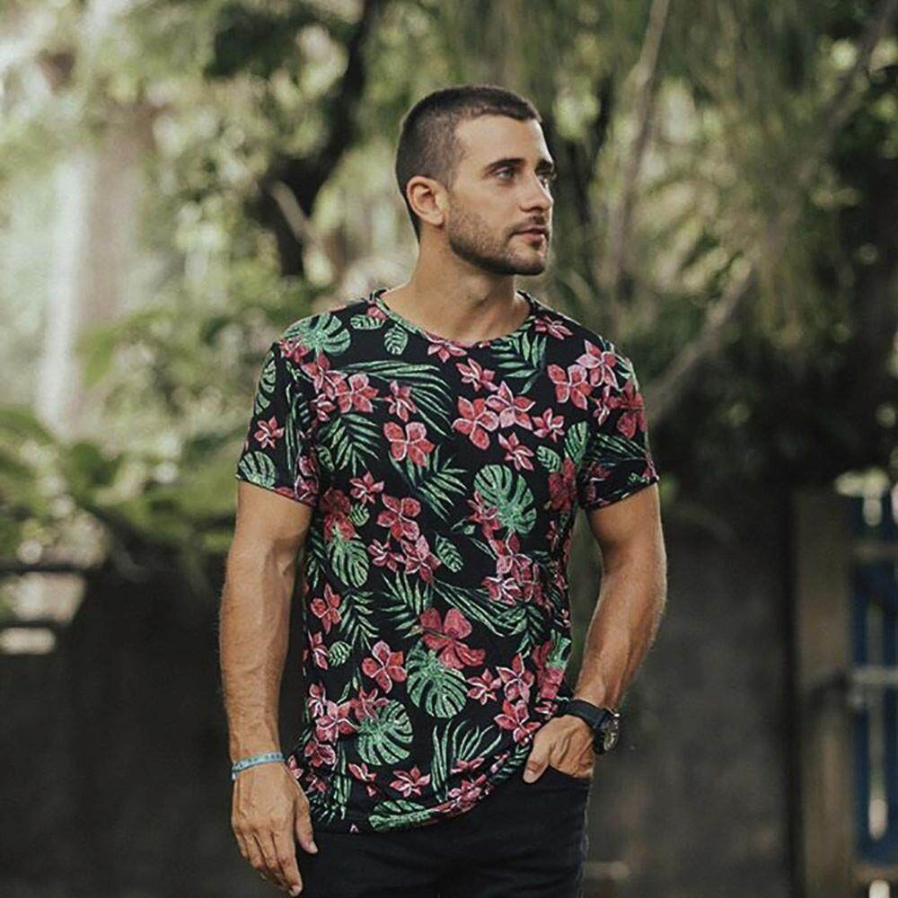 Popular T Shirts For Men The Best Prices In Malaysia Tendencies Short Basic Long Collar Less White Putih M Foxloom Dadme Mens Casual Floral Printing Tops Clothes Shirt Family Blouse