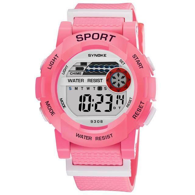 SYNOKE Brand Watch Sport Student Children Watch Kids Watches Child LED Digital Wristwatch Electronic Wrist Watch 9308 Malaysia