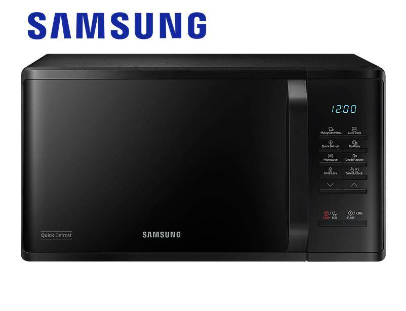 Samsung 23l Solo Microwave Oven With Quick Defrost Ms23k3513ak