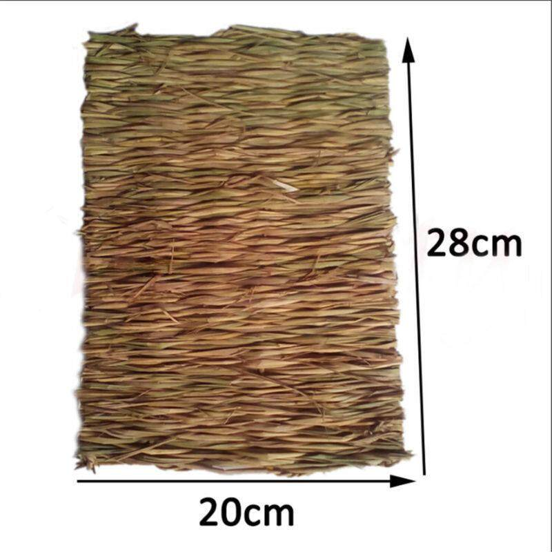 Hiqueen Animal Hamster Grass Chew Mat Breakers Toy Rabbit Rat Guinea Pig House Pad By Hiquuen.