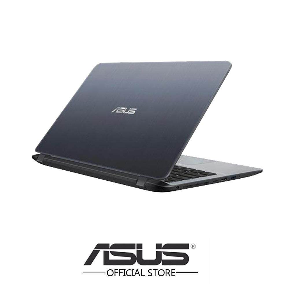 Asus Vivobook A407U-ABV321T 14 Laptop/ Notebook (i3-8130U, 4GB, 1TB, Intel, W10H, Star Grey) Malaysia