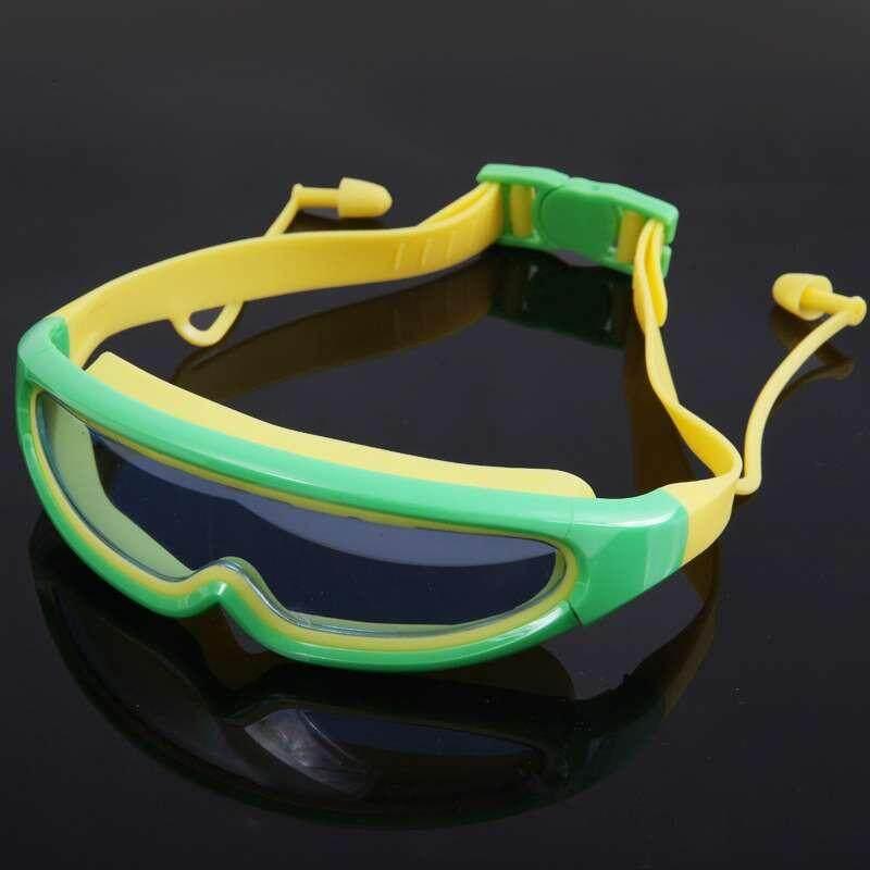 768a3d0592d Qo Big Frame Swimming Glasses Children Anti-Fog Uv Kids Waterproof Swimming  Goggles Child Swim ...