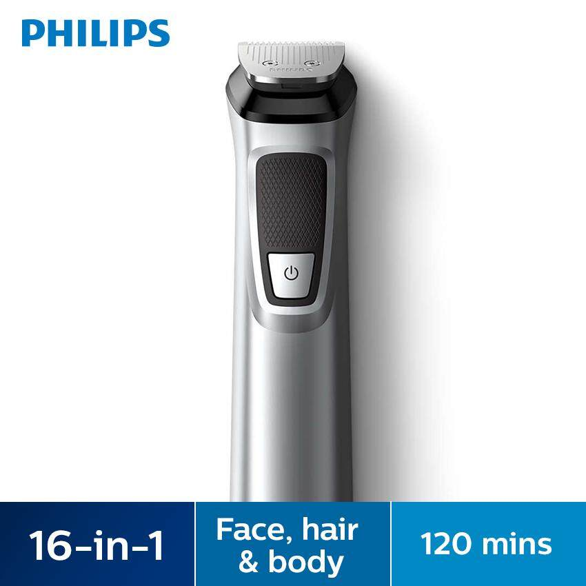 Philips Multigroom Series 7000 16-In-1, Face, Hair And Body Mg7730/15 By Blipmy.