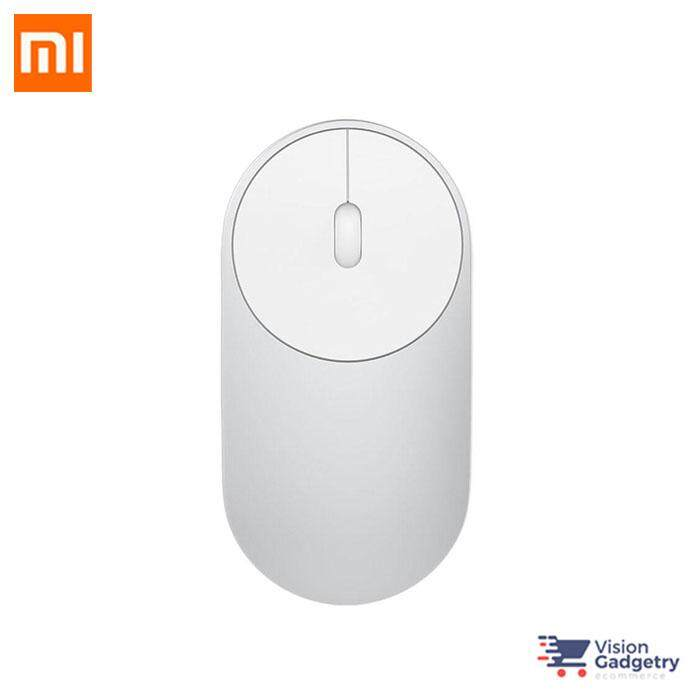 Xiaomi Mi Portable Mouse Bluetooth 2.4G Dongle Wireless Aluminium XMSB02MW Malaysia