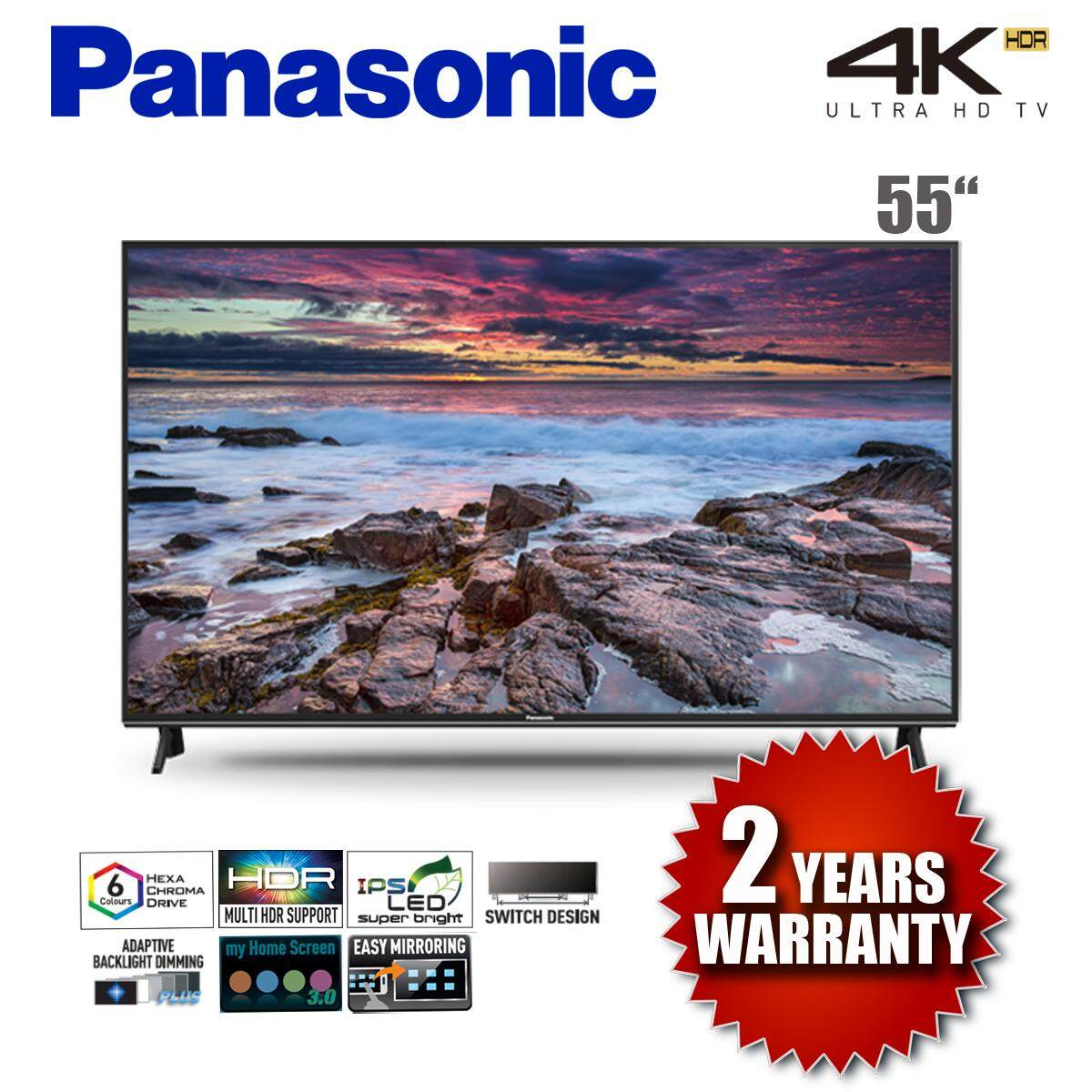 PANASONIC TH-55FX600K 4K ULTRA HD LED SMART TV 2018 MODEL