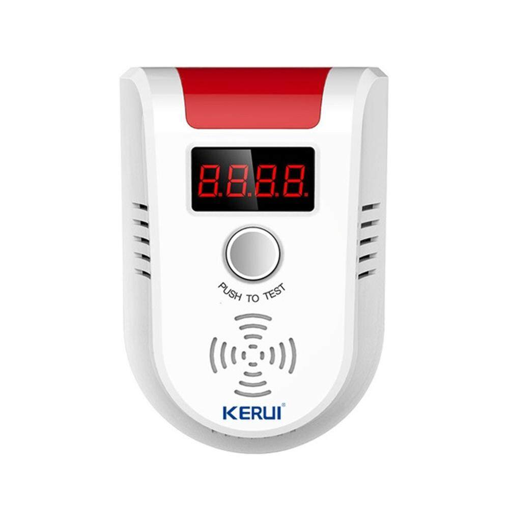 KERUI GD13 LPG GAS Detector Wireless Digital LED Combustible Detector for Home Alarm System