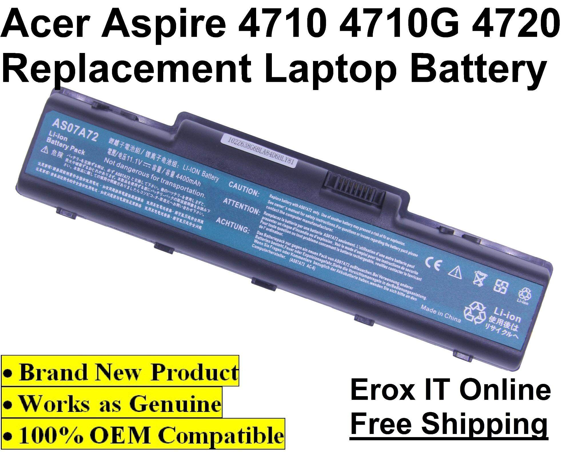 Replacement Laptop Battery for Acer Aspire 4937 Series /4710 Battery Malaysia