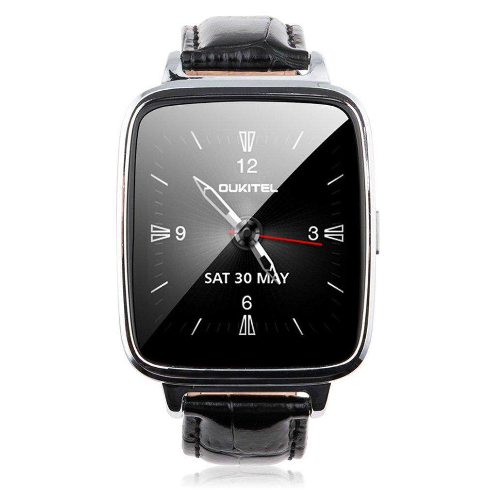 UINN OUKITEL A28 Bluetooth Smart Watch Heart Rate Monitor Pedometer for Phone Malaysia
