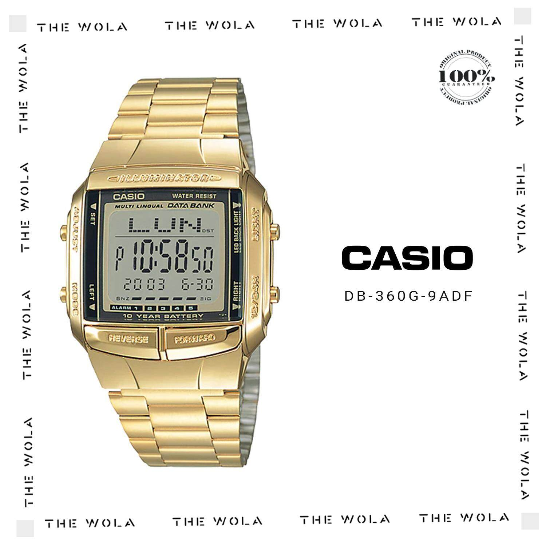 CASIO DIGITAL MEN WATCH DB-360G-9ADF Original & Genuine (1 Year Warranty) Malaysia