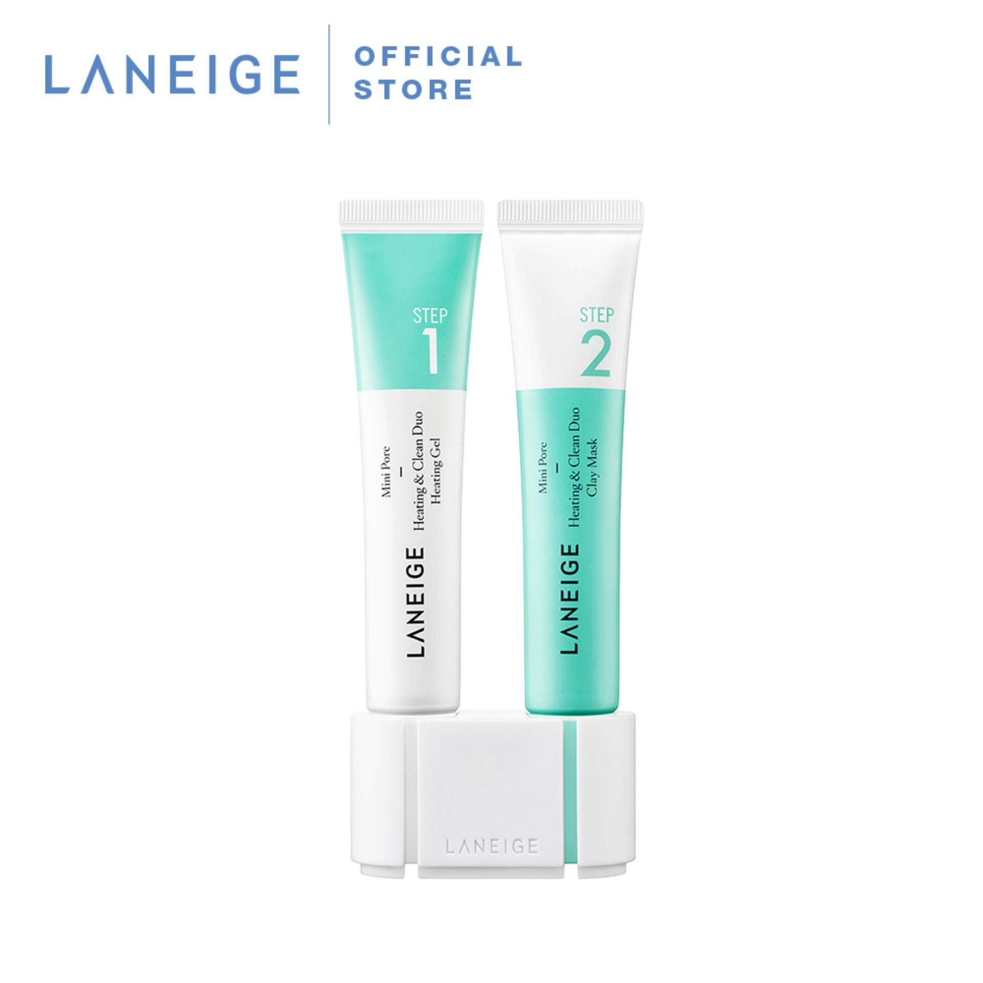 Laneige Mini Pore Heating & Clean Duo 15ml Each By Laneige Malaysia.