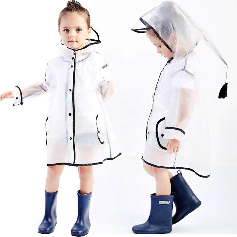 00faf668b4f Kids Baby Raincoat Waterproof Rain Coat Boy Children Girls Windproof Poncho  Rainwear Rainsuit