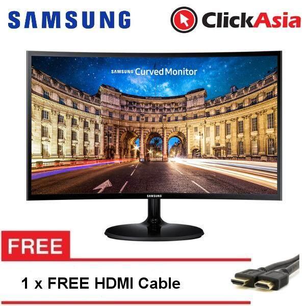 Samsung 23.5 Curved FHD LED Monitor (LC24F390FHEXXM) Slim Design Malaysia