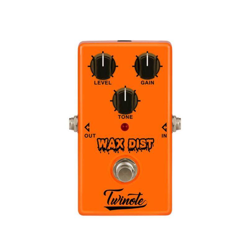 LB WAX DIST Mini Guitar Pedal with Classic Tube Distortion Sound for Guitar Accessories for Vintage Rock Morden Blues Style Style:Distortion effect Malaysia