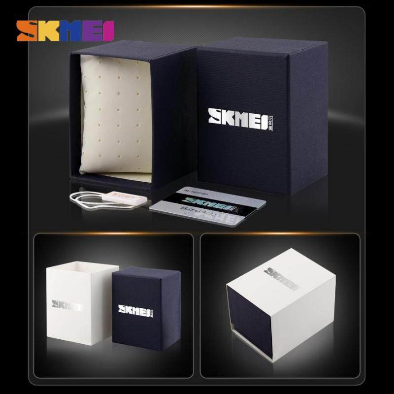 New SKMEI 100% Original Brand Black Blue High Quality Paper Box for Exquisite Gift Present Without Watch Malaysia