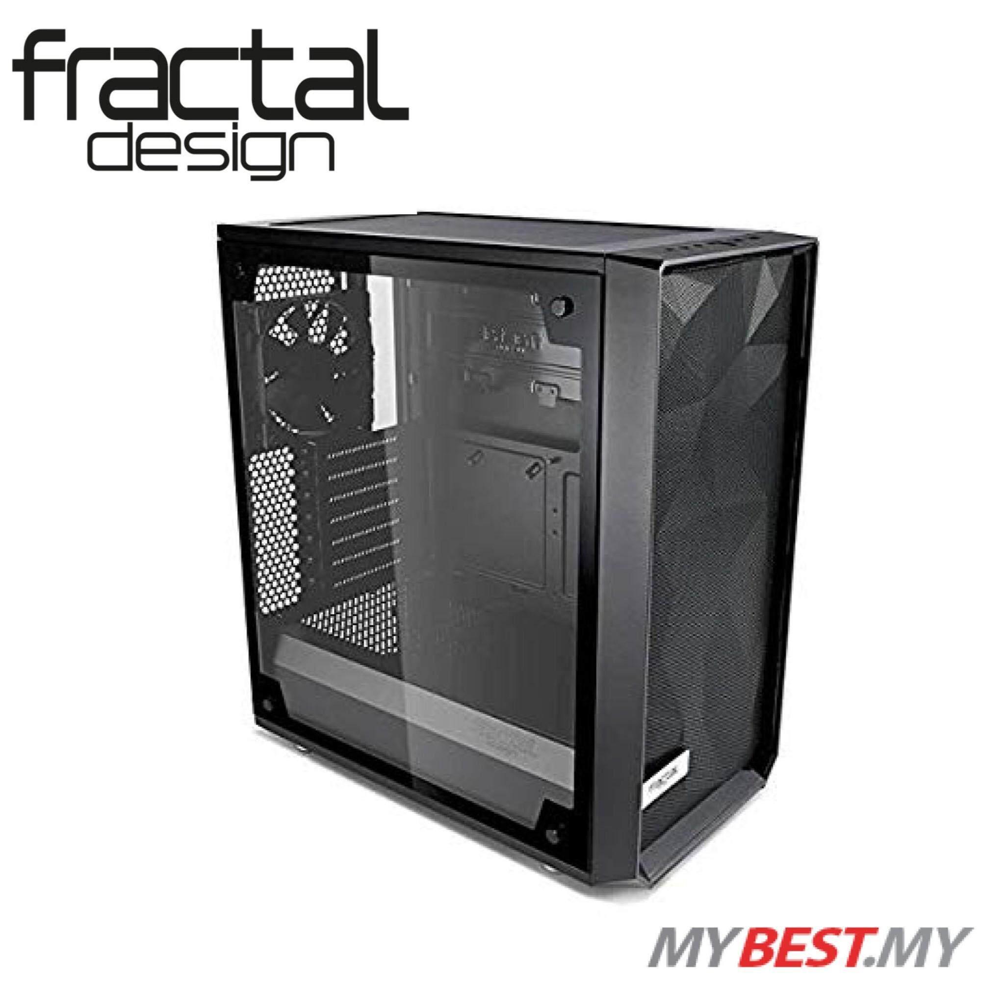 FRACTAL DESIGN Meshify C Tempered Glass (Black) Malaysia
