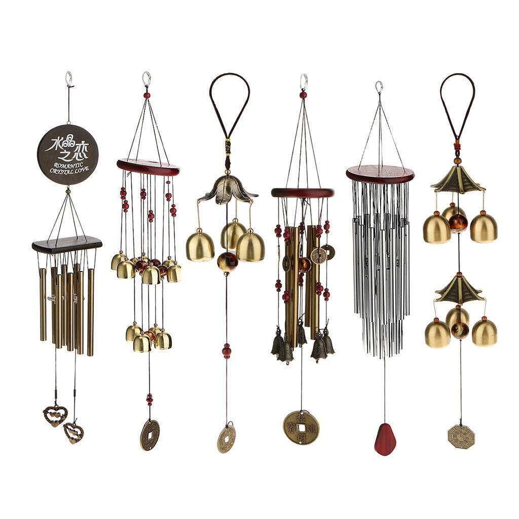 Dolity 10 Big Metal Bells Wind Chime Garden Yard Charm Hanging Feng Shui Ornament