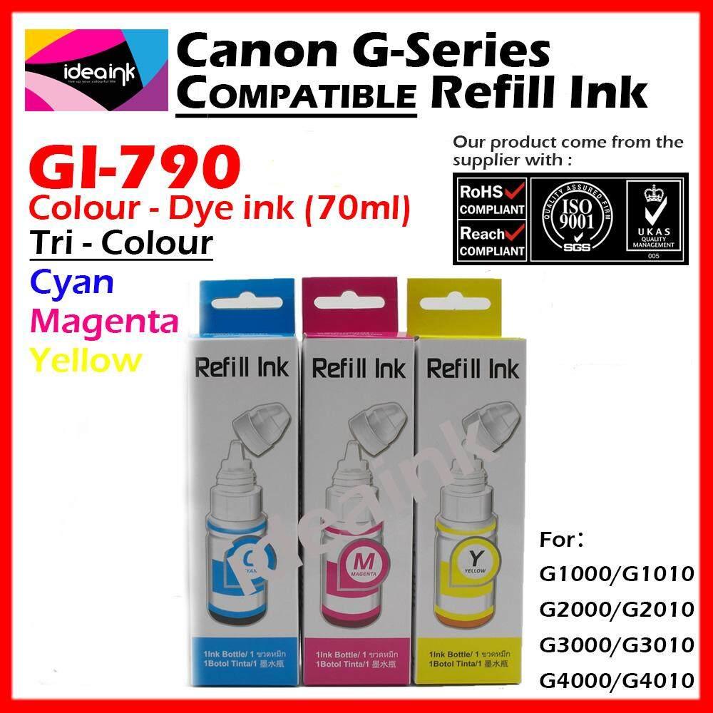 Canon Tinta Botol Gi 790 Magenta Original Cek Harga Terkini Dan Pigment Ultimate Plus Uv G1000 G2000 G2003 G3000 70 Ml Myr 42