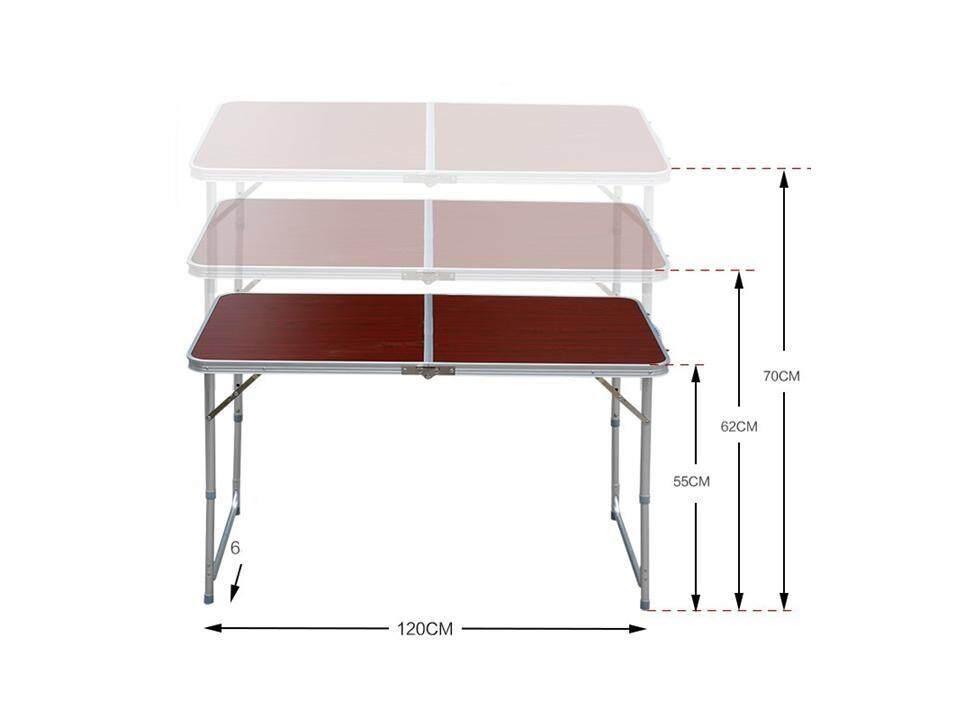 Like Bug Foldable Height Adjustable 2 Way Aluminium