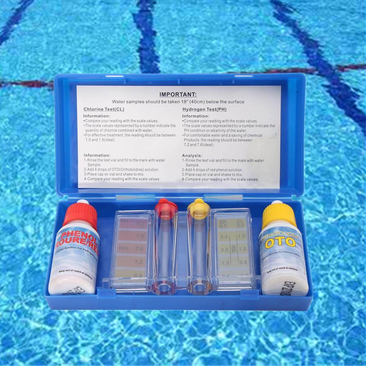 PH Chlorine Water Quality Test Kit Swimming Pool Tester Hydrotool Testing Kit