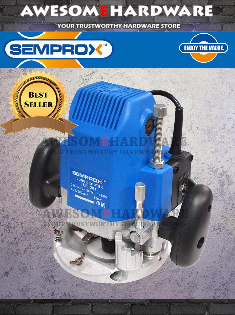 SEMPROX SER1201 1850W ELECTRIC ROUTER