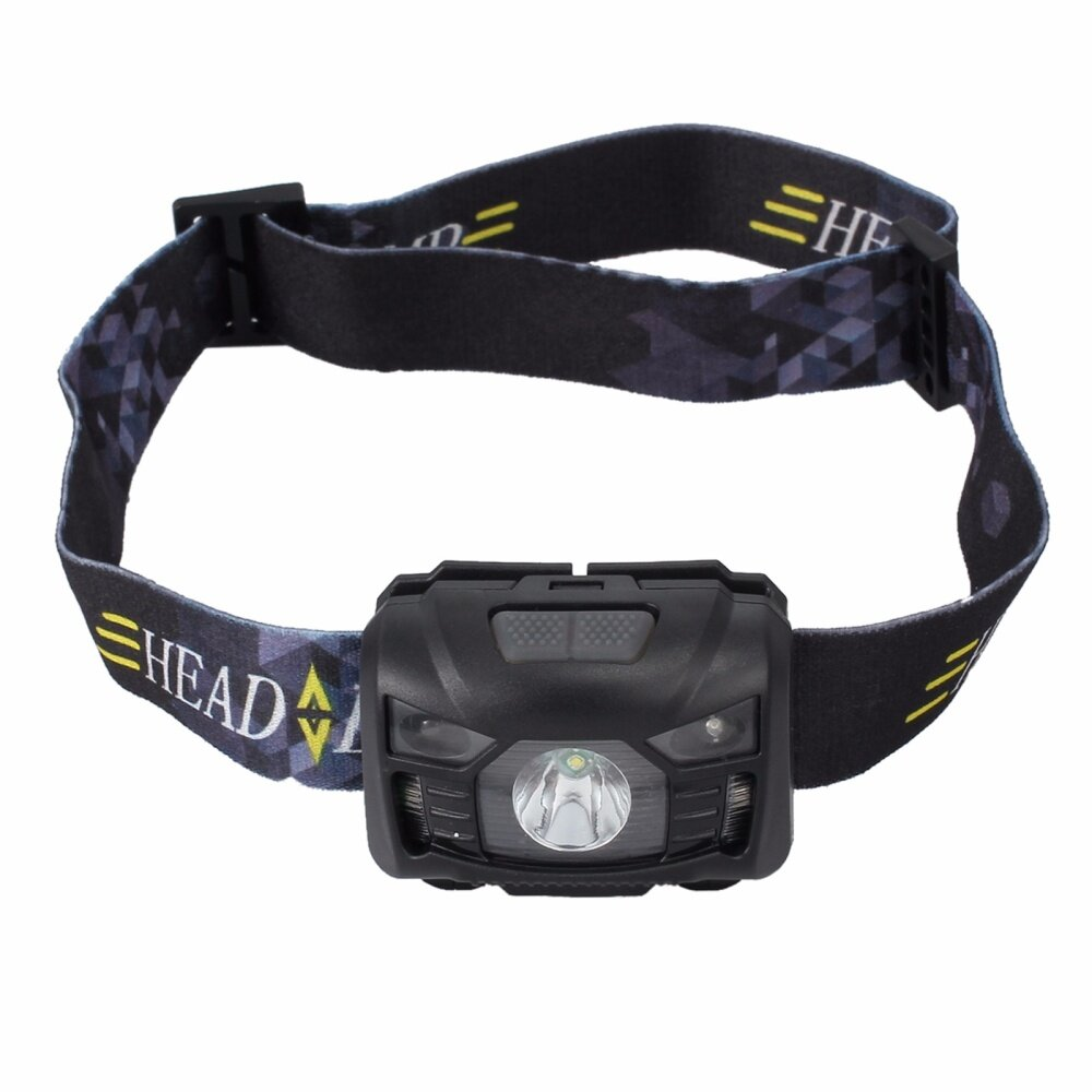 Head Torch Headlight Lamp Camping Induction Headlamp CREE LED USB Rechargeable