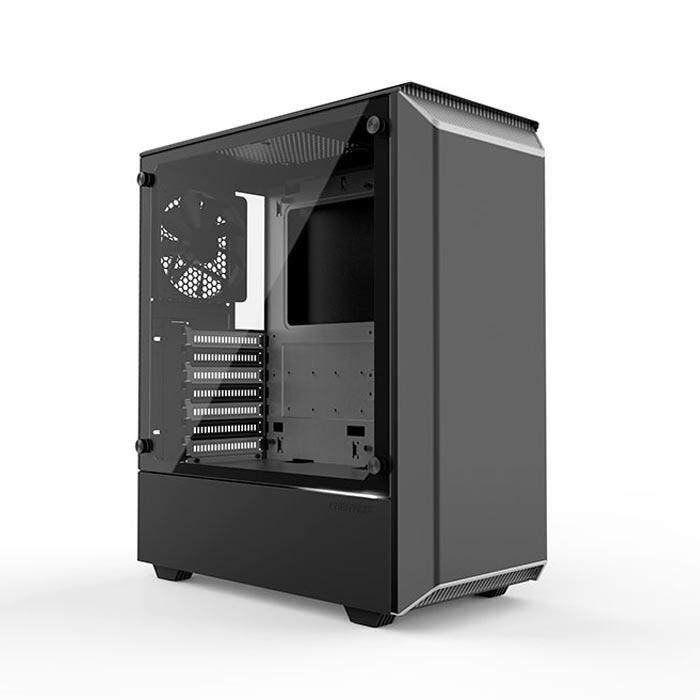 Phanteks Eclipse P300 Mid Tower ATX Case Black & White Malaysia