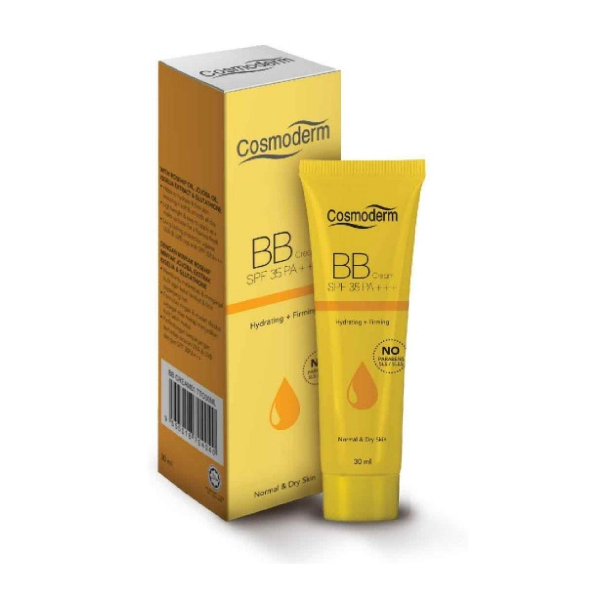 Cosmoderm Face Makeup Bb Cc Cream Price In Malaysia Best Original Spf 35 Pa With Vitamin E Natural Beige 03