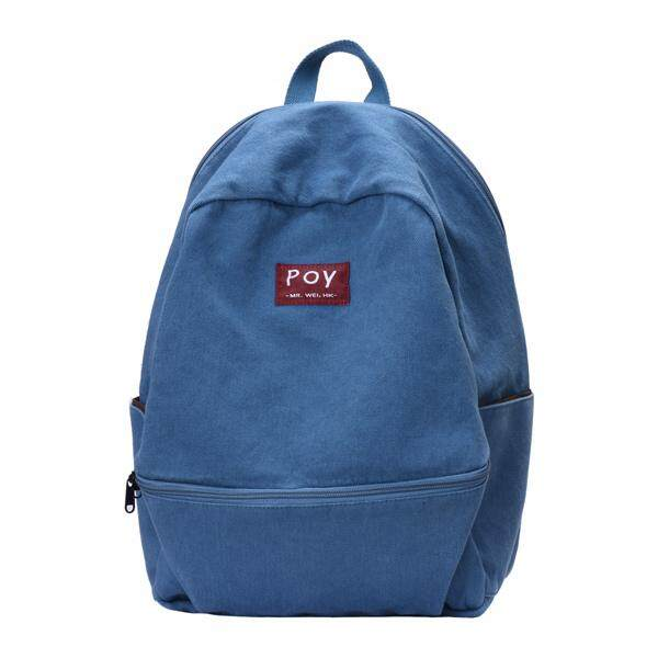 cb1bfcf40f5f POY Backpack Female Canvas Japanese-style Leisure Simple Literature And Art  Korean Style High School College Student School Bag Mori Style INS Wind