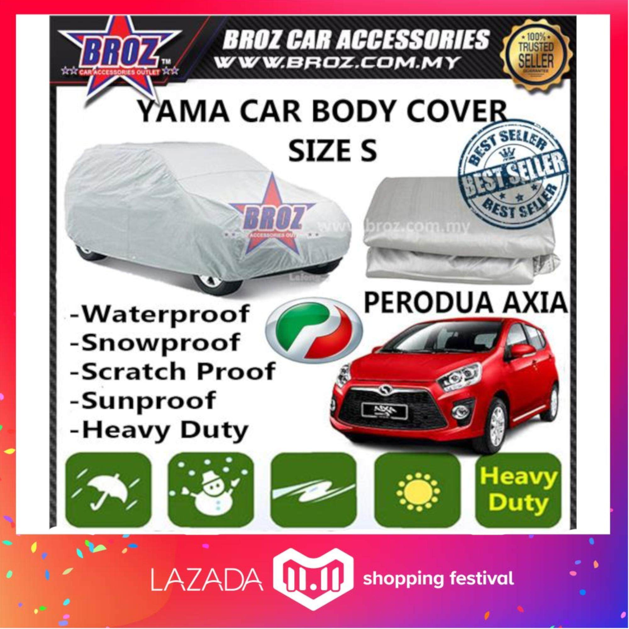 Car Covers For The Best Prices In Malaysia Cover Motor Super Size Xl Perodua Axia High Quality Yama Sunproof Dust Proof Water Resistant Protective Anti Uv