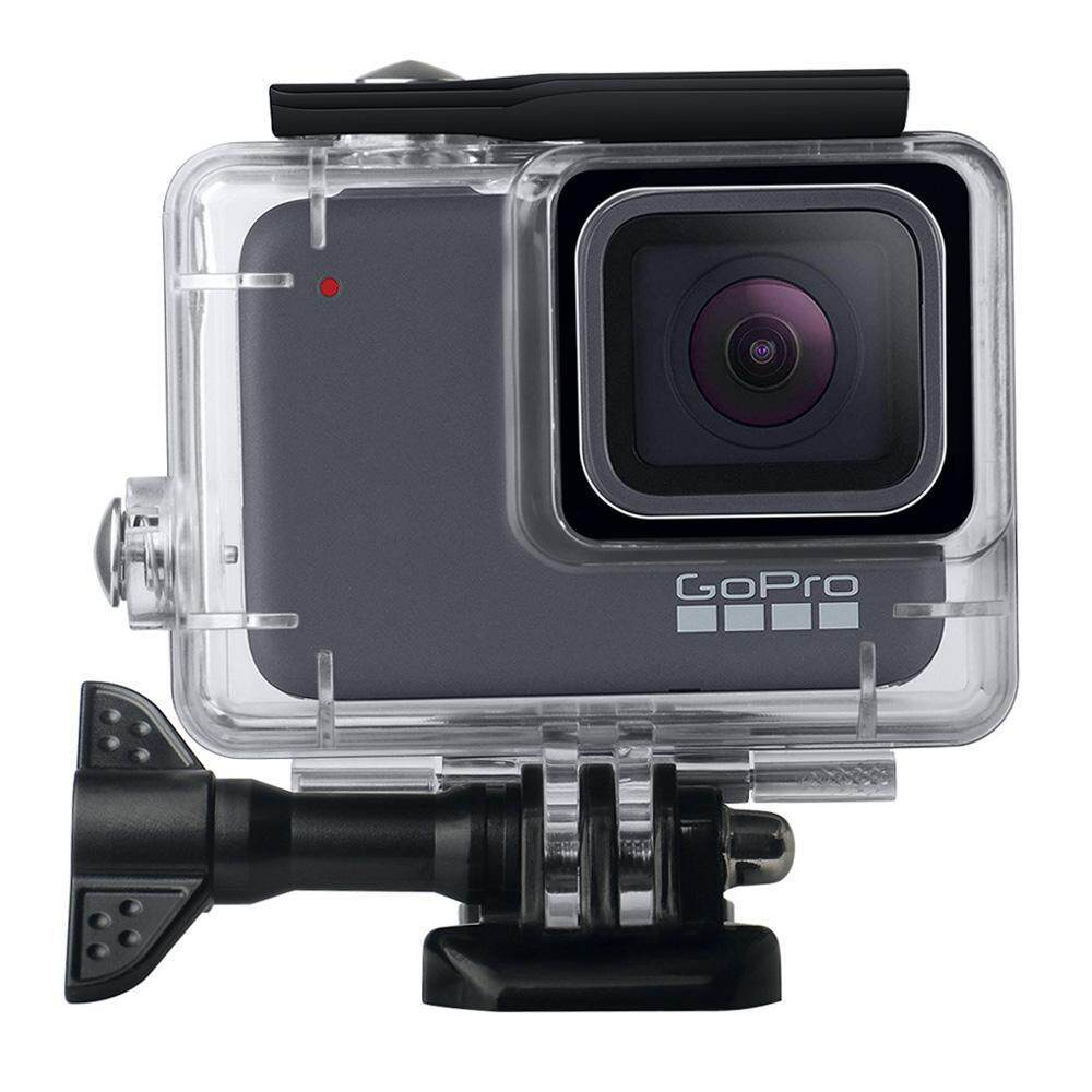OutFlety Waterproof Housing Shell for GoPro Hero7 Silver/ White, 147ft Underwater Diving Case Transparent