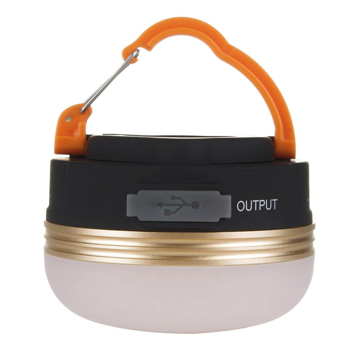 Portable Rechargeable Led Hiking Camping Tent Lantern Light Usb Lamp Outdoor By Glimmer.