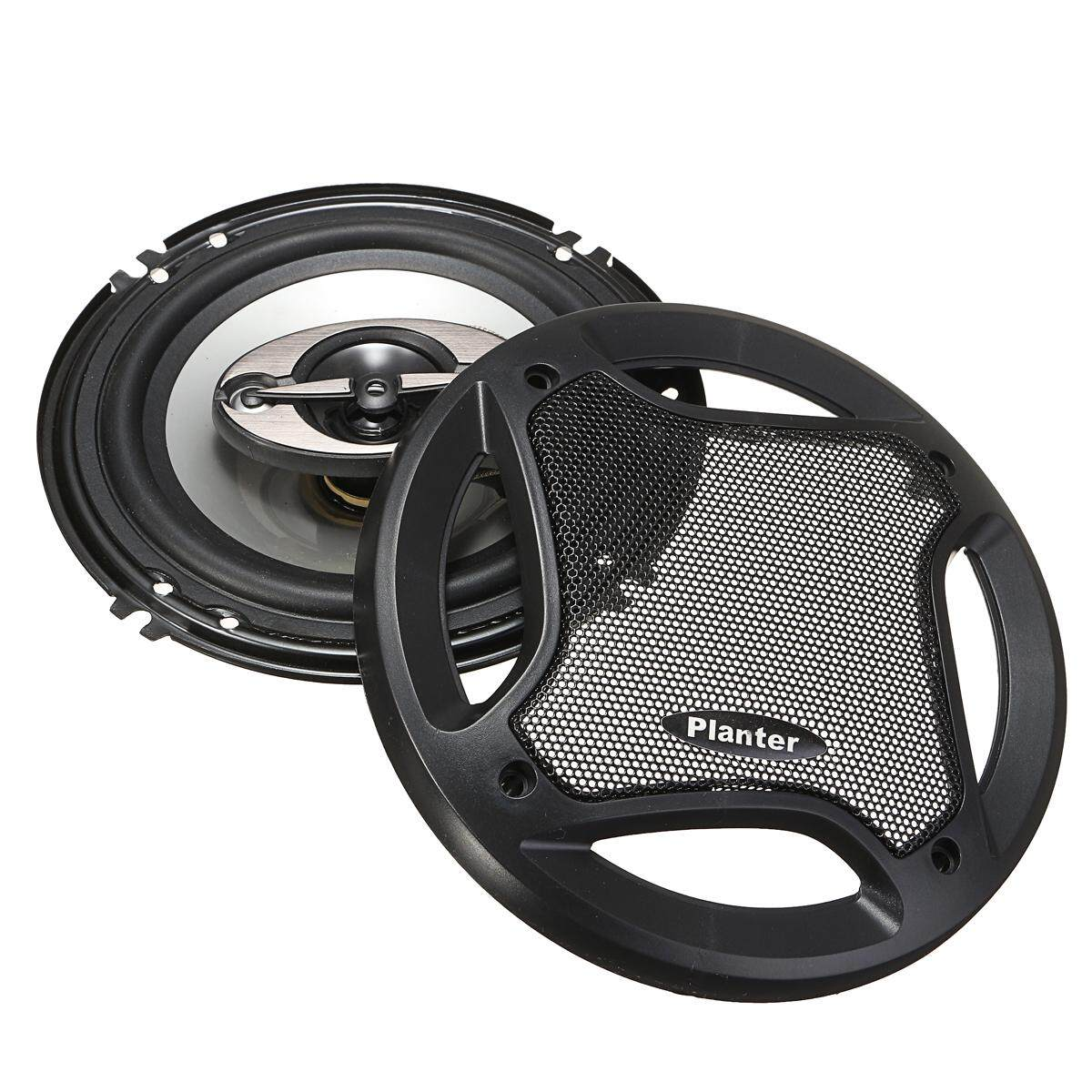 2 X Durable 6 5 Inch Car Audio Coaxial Speakers Stereo 90dB 400W 4 Way  Subwoofer