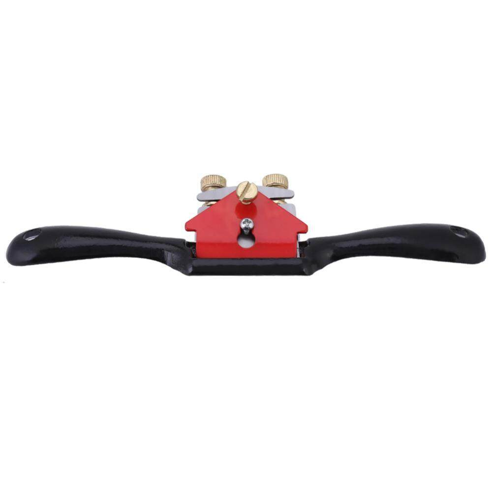 Woodworking Cutting Edge Plane Spokeshave Hand Trimming Tool With Screw 9 Inch Adjustment