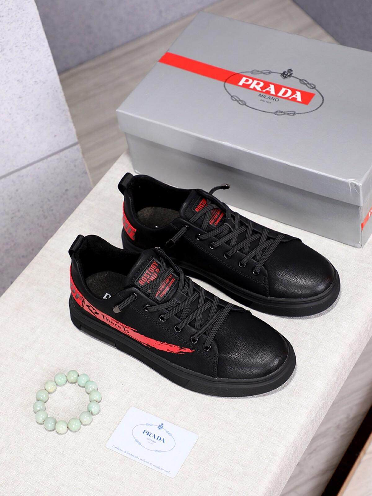 d7e6a19e Prada classic hot style high-end sports shoes for men