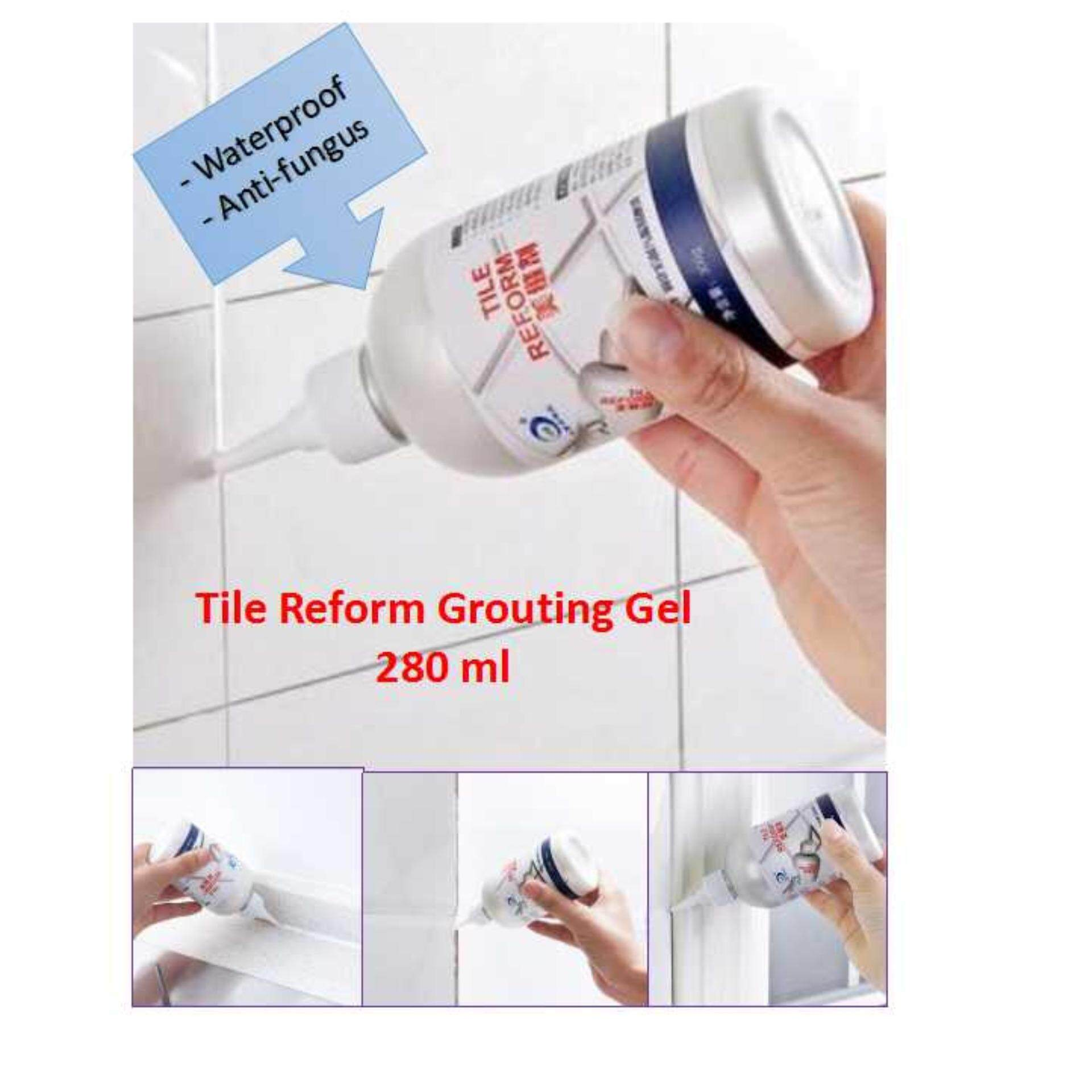 Tile Reform Grouting Gel Waterproof And Anti-Fungus 280ml By Stylishcp Store.