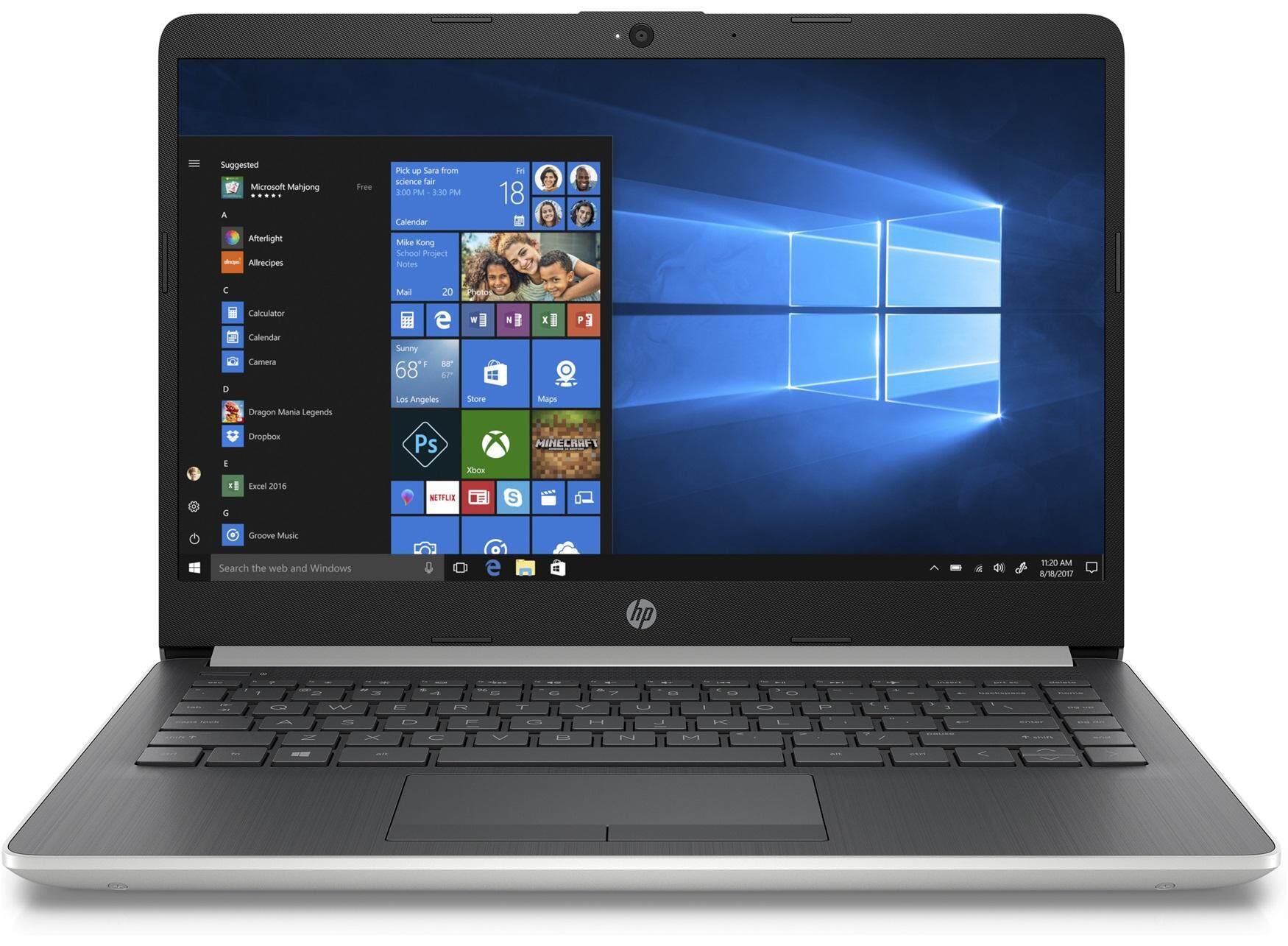 HP 14S-CF0040TX (4NY97PA) SILVER (I5-8250U/4GB/1TB/2GB RADEON 530/14/W10/2YRS) + BAG Malaysia