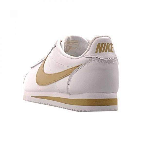 on sale c6e21 ea4ca germany nike womens wmns classic cortez leather hk white gold white us  1e975 a0181