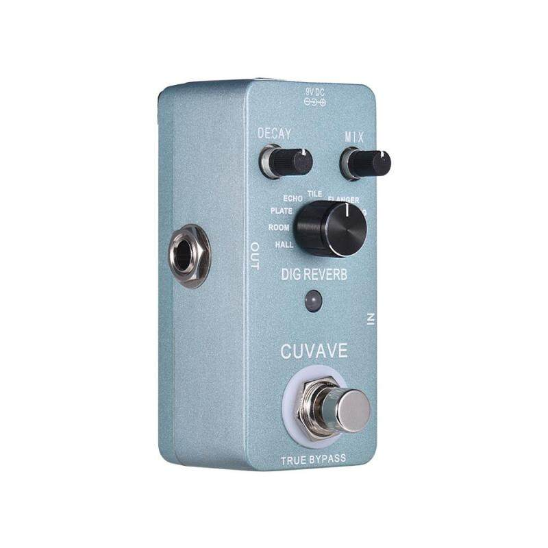 Digital Reverb Guitar Effect Pedal 9 Reverb Types True Bypass Full Metal Shell Malaysia