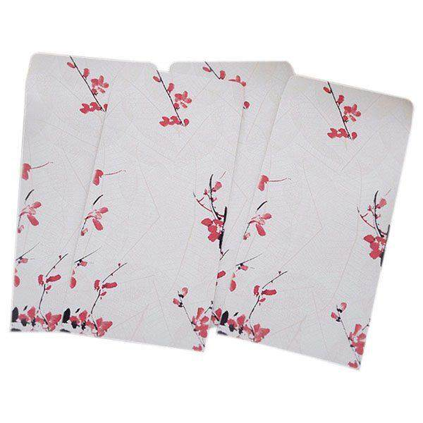 10 Pieces / Party Vintage Chinese Style Vintage Craft Paper Envelope May 27 Ying By Fastour.