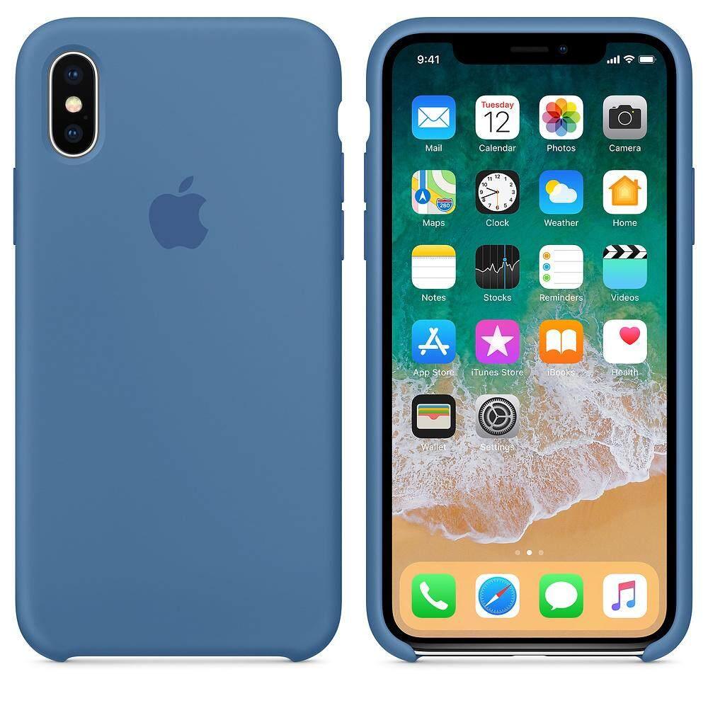 83ccea7598ec08 Official Original Silicone Case For iPhoneX Cover Eighteen color iphone X  Case