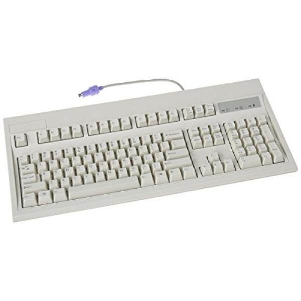 104KEY PS2 Keyboard Beige Pc Win IBM Layout Rohs Malaysia