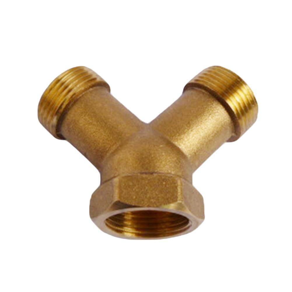 3/4 Splitter Joiner High Pressure Connector Y Piece Washing Machine Brass Hose