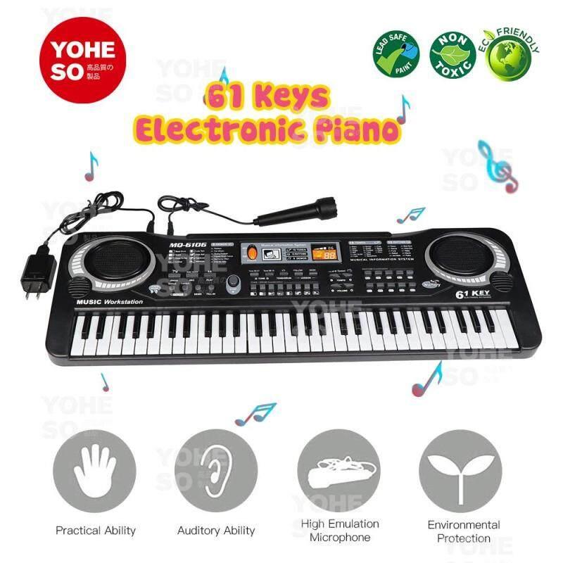 YOHESO Electric Piano 61 Keys Digital Music Electronic Keyboard Key Board Malaysia