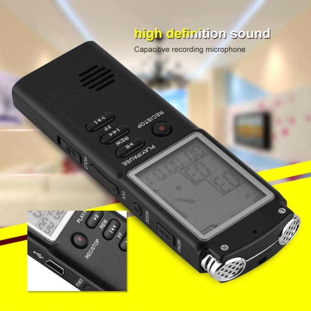Multifunctional Intelligent Voice Recorder Lcd Audio Recording Pen Hd Player (8g) By 1buycart.