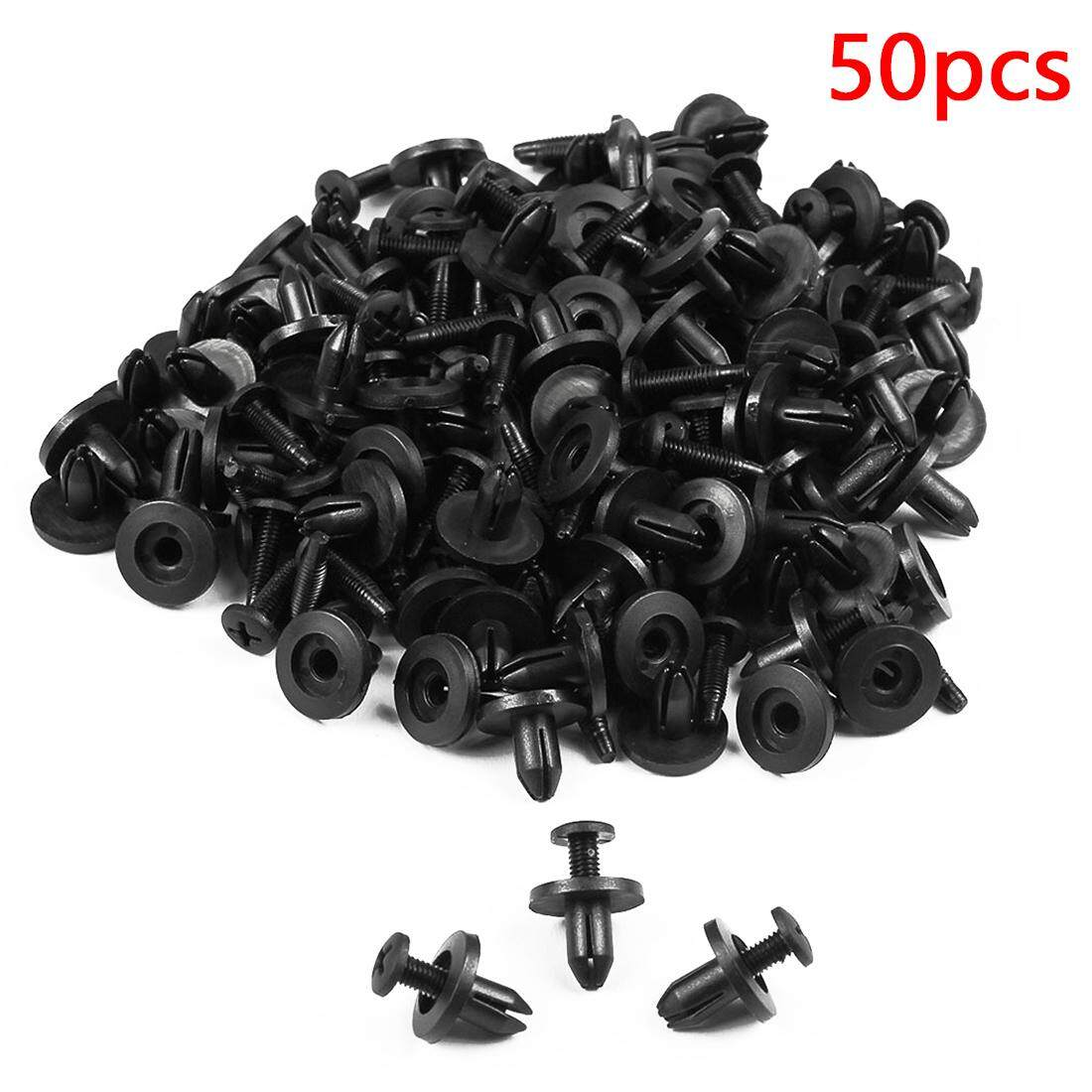 Clips Buy At Best Price In Malaysia Wiring Harness Alligator Fence 50pcs 8mm Plastic Rivet Automotive Fasteners Car Door Bumper Cover Fender Fixed Clip Styling