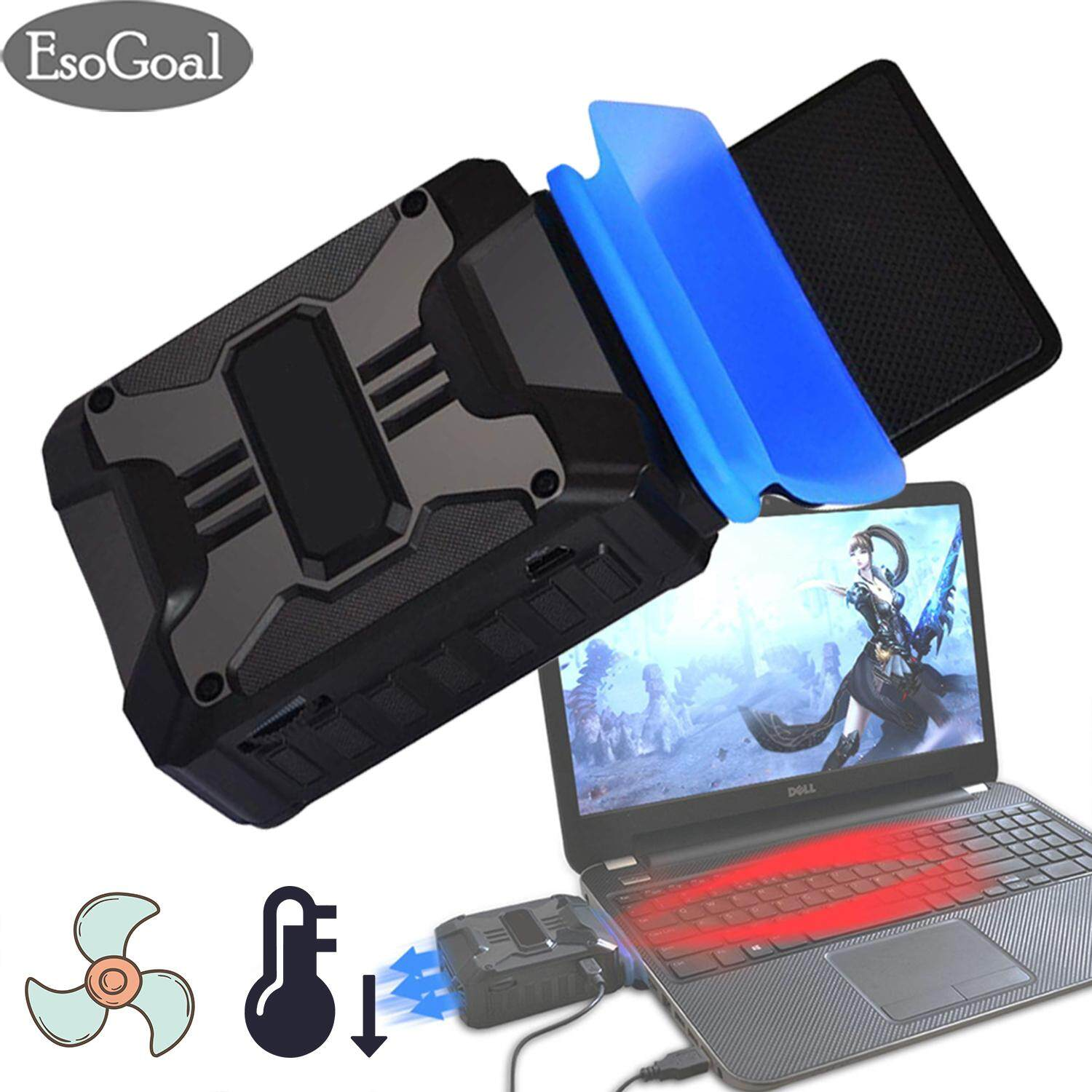 EsoGoal Laptop Cooling Fan Laptop Cooler USB Portable Cooling Fan for Laptop Cooler Stand Laptop Vacuum Cooler Laptop Air Cooler for Notebook Laptop Malaysia